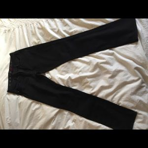 Earnest Sewn High Rise Black Jeans